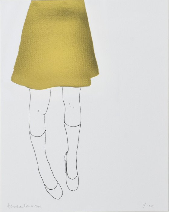 Gold Skirt