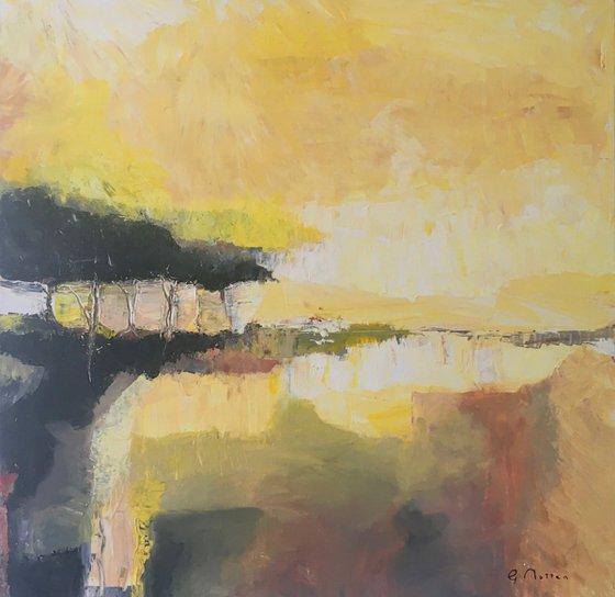 Golden Moor 60 cm x 60 cm