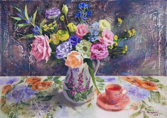 Flower Vase & Teacup 3
