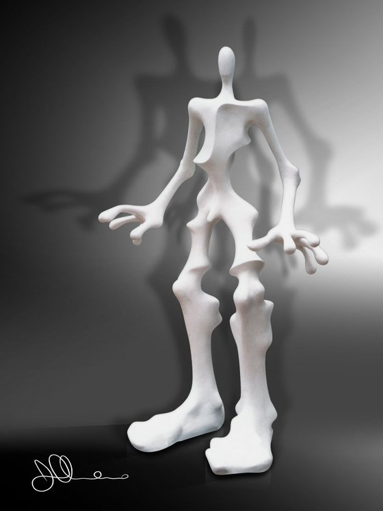 Creativity versus Gravity | White Eden Collection
