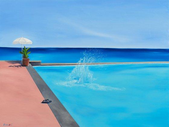 Splash! Sunny Swimming pool