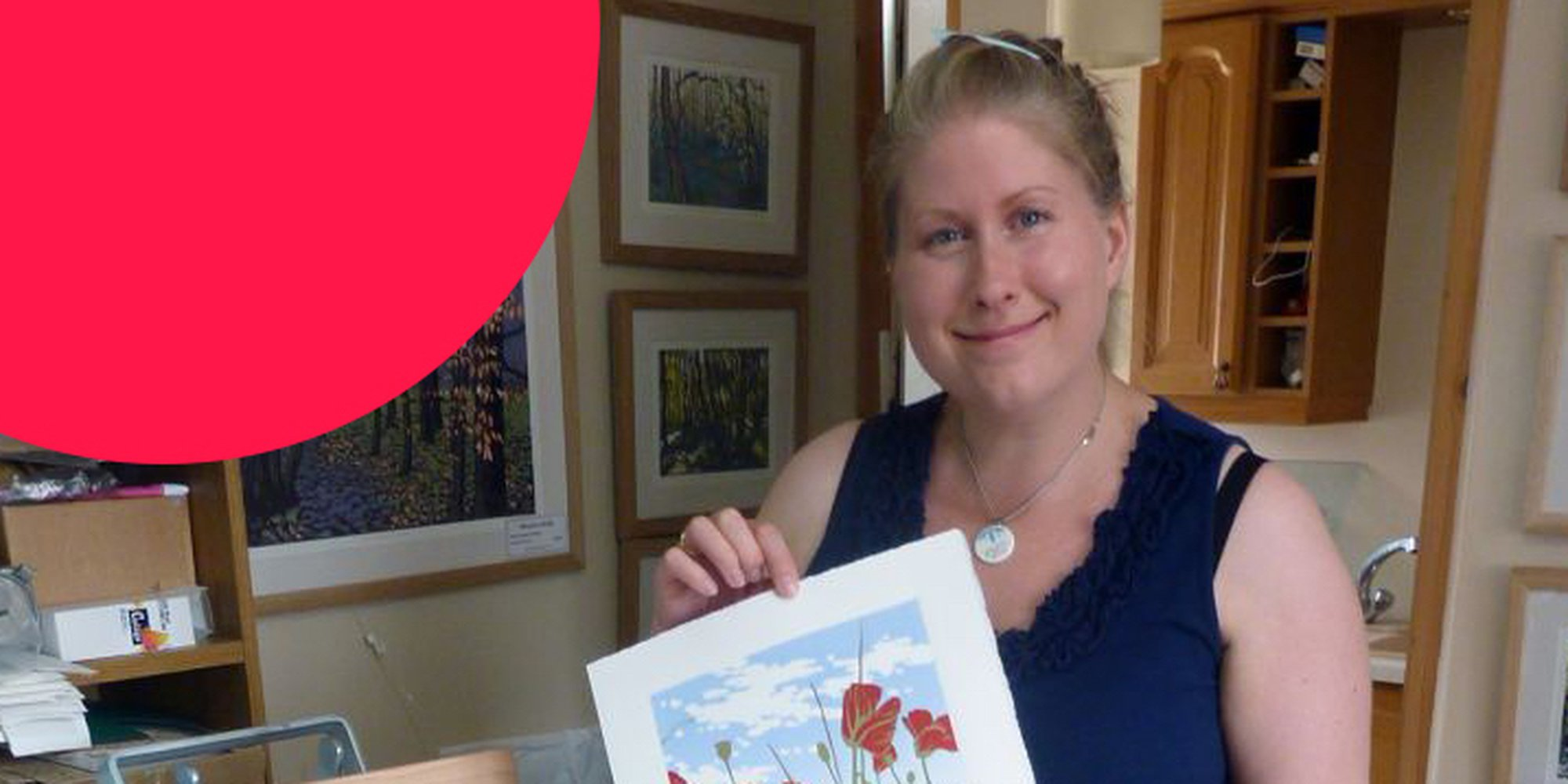 Alexandra Buckle talks about her Artfinder sucess, finding her artistic confidence and being most inspired when dog walking!