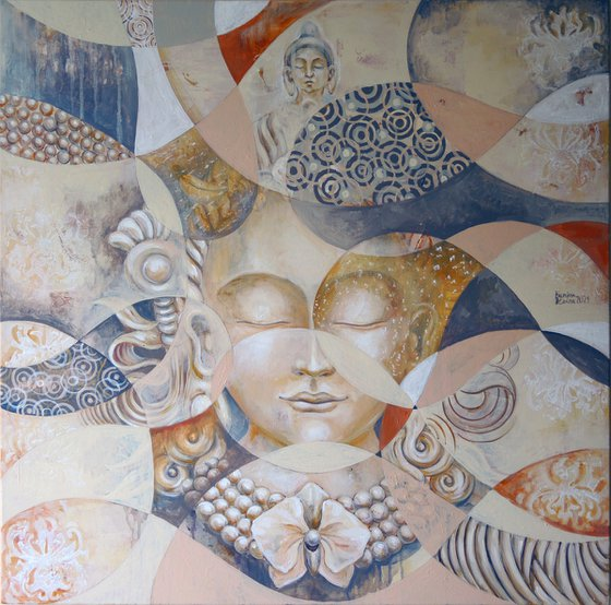 The abstract Buddha