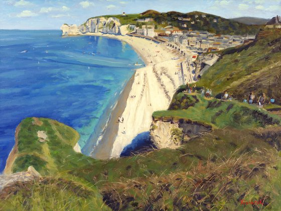 Cliffs of Etratat II