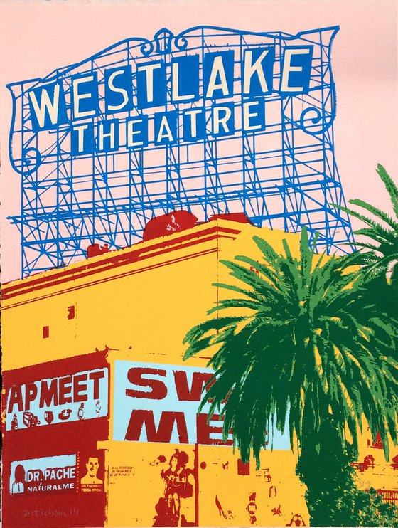 Los Angeles signs and palmtrees 15
