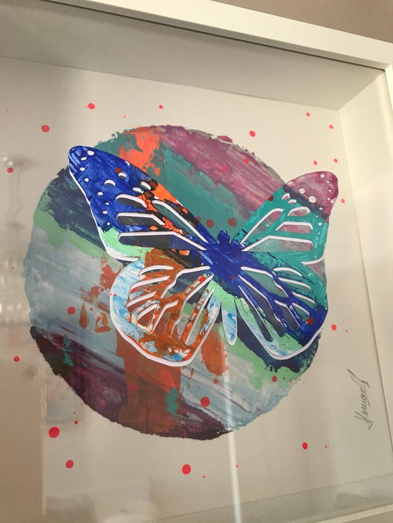 Floating Butterfly #2