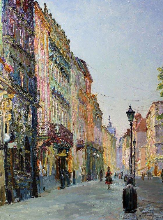 Lviv in the morning