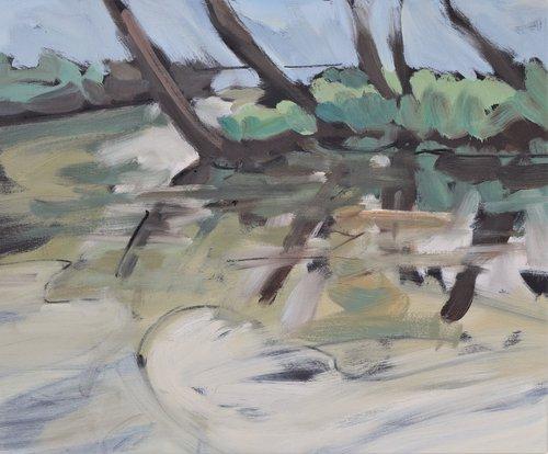 River at Ramsbury, Wiltshire