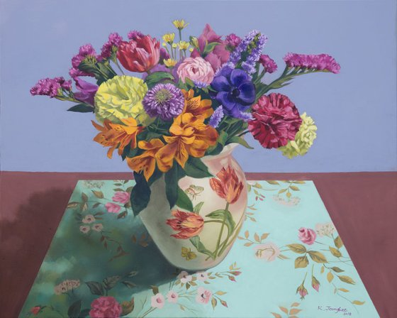 Flowers in Vase 1