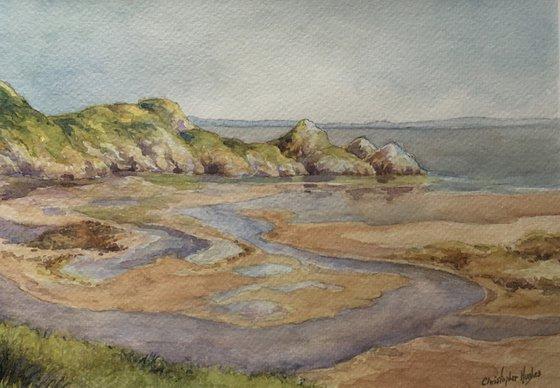 Three Cliffs Bay. Pennard Pill and Oxwich.