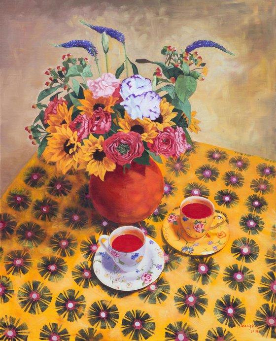 Flower Vase & Teacup 2