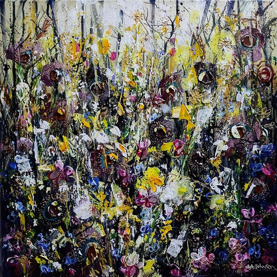 Floral Organic Abstract - 'Forest Floor'