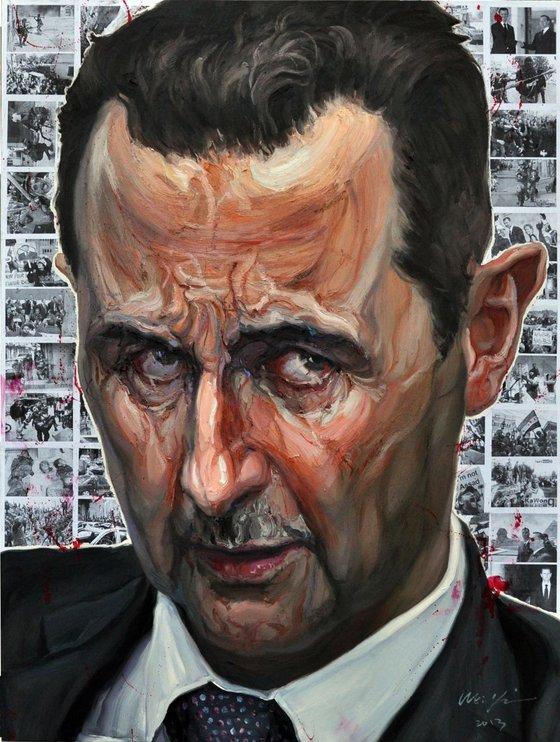 The  dictator No.4 al-Assad