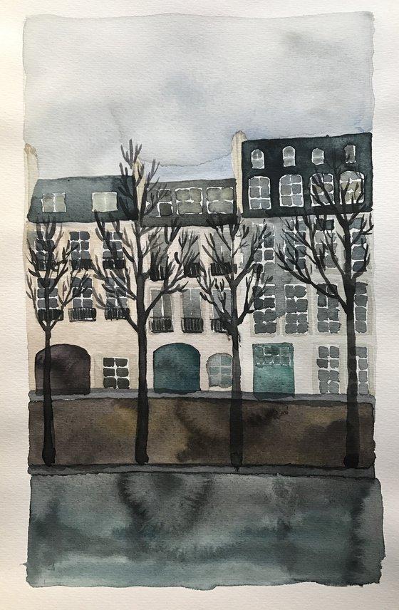 Paris from Seine