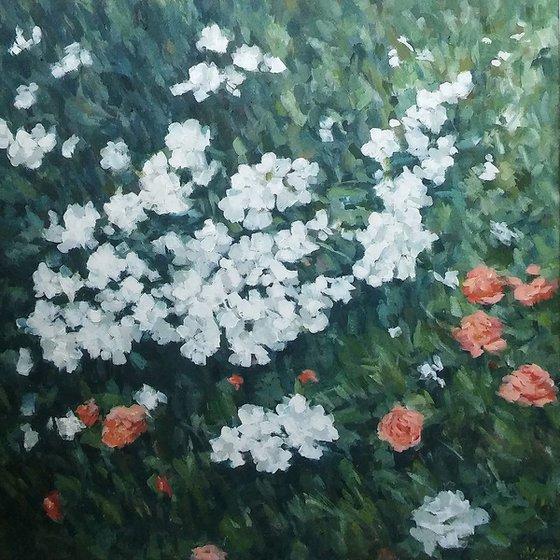 Flowers- acrylic on canvas