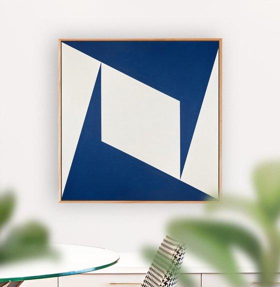 Pinnacle (Geometric Acrylic Painting)