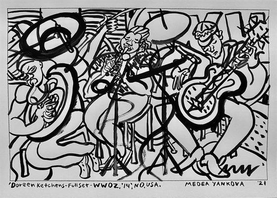 Doreen Ketchens- Full Set- WWOZ, '14. NO, USA
