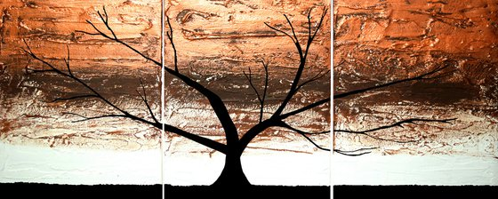 """Copper Forest  48 x 20"""""""