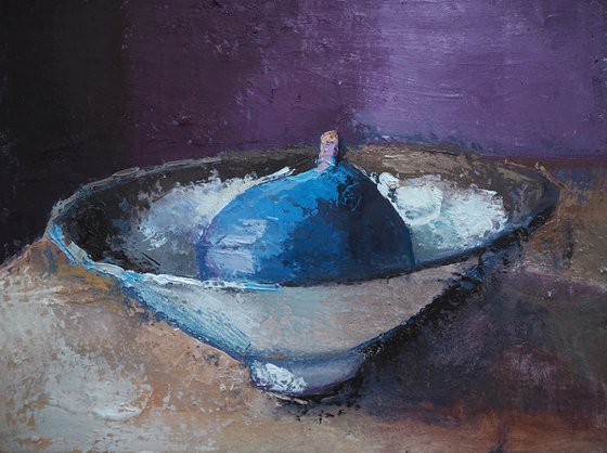 Fig in bowl