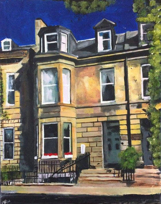Edinburgh On A Sunny Day