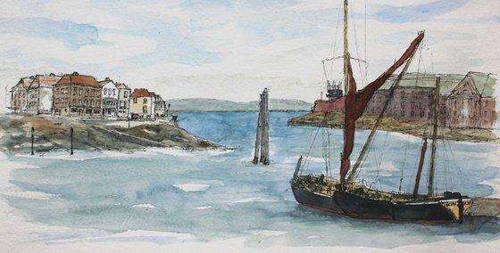 Sailing Barge Alice