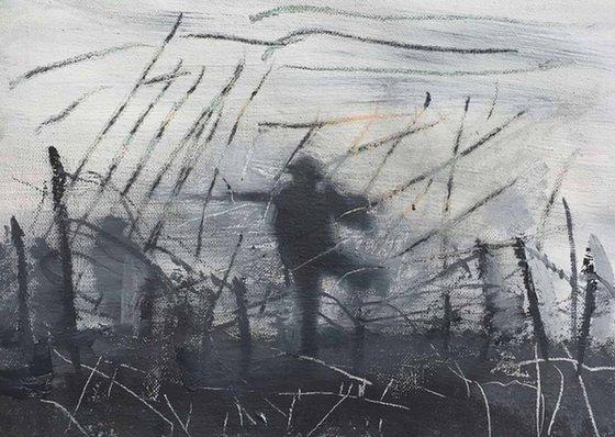 No-mans Land Barbed Wire