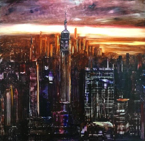 Towering dusk