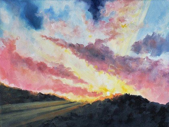 """Be the Light"" - Landscape - Sunrise - Clouds"