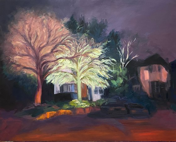 Winter Night on Wise Lane (III)