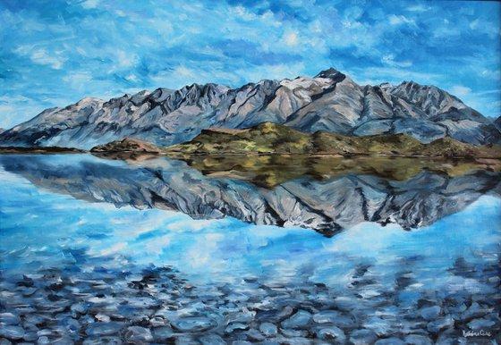 "Landscape - Mountains - ""Reflections"""