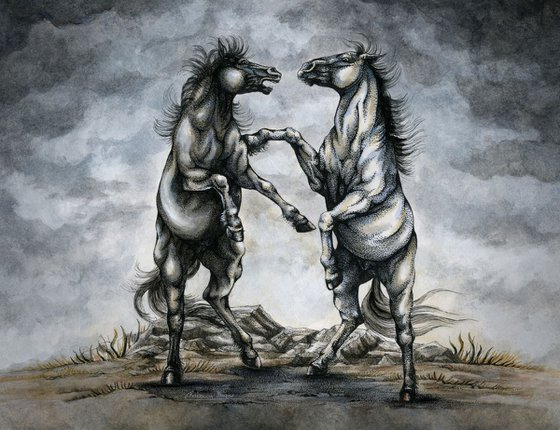 The Battle of Horses