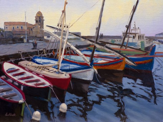 Boats at Collioure II