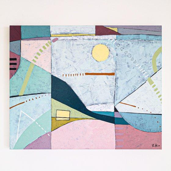 "Abstract Painting - Sono (Original, 40""x32""   101x81 cm)"