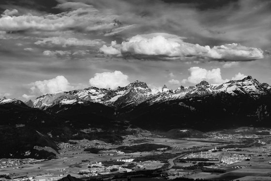 Alps and Rhone valley