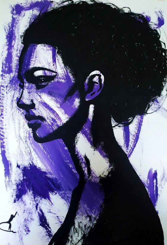 Purple girl #2