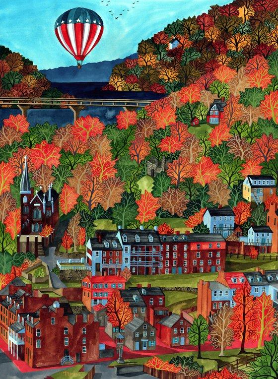 Autumn in Harper's Ferry