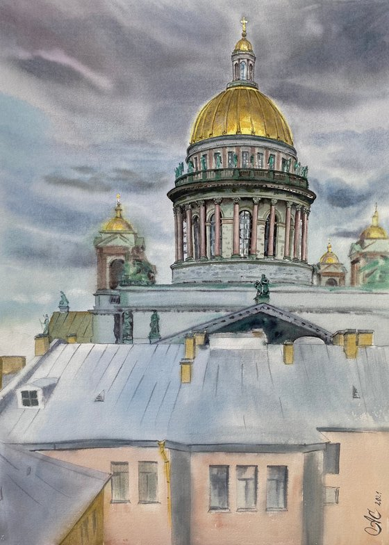 Petersburg impressions. Saint Isaac's Cathedral