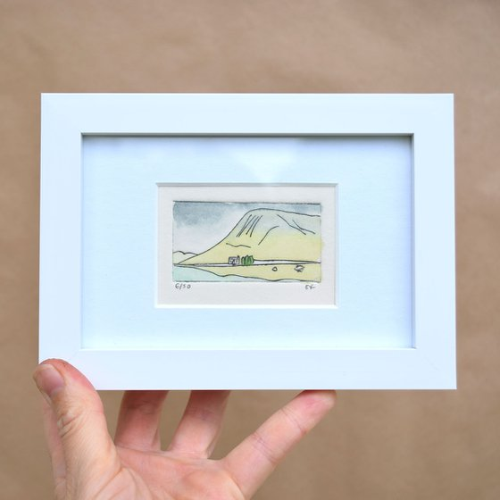 Small framed Glencoe cottage, Scotland