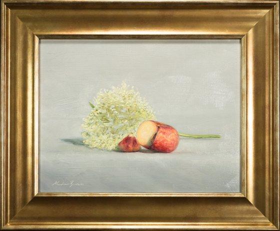 Peach with Elderflower