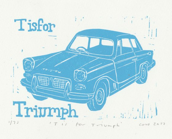 T is for Triumph Herald
