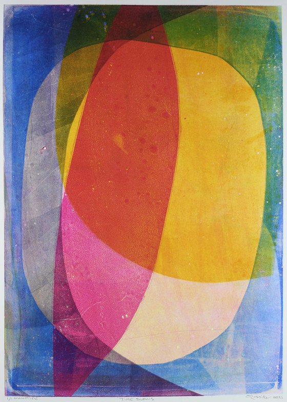 Time Slows - Unmounted Signed Monotype