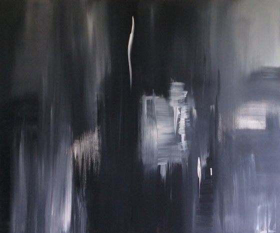 """""""Shades Of Grey"""" 120x100x4cm"""