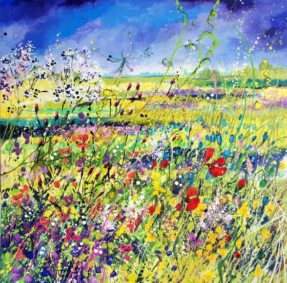 Wildflowers in the Meadow (Portholme)