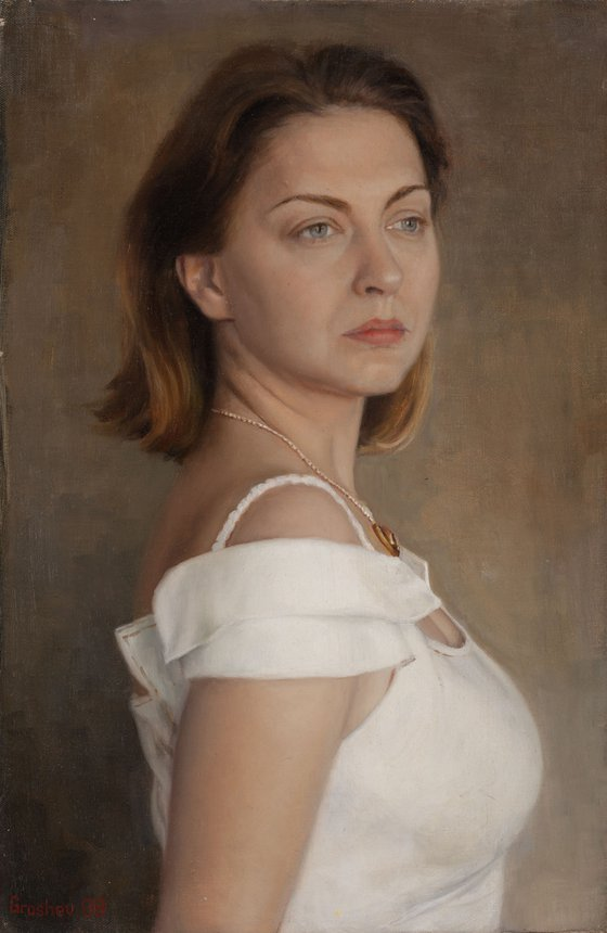 portrait of Anastasia