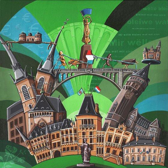 Luxembourg Landmarks