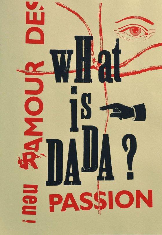 what is dada - dada print Nr 01