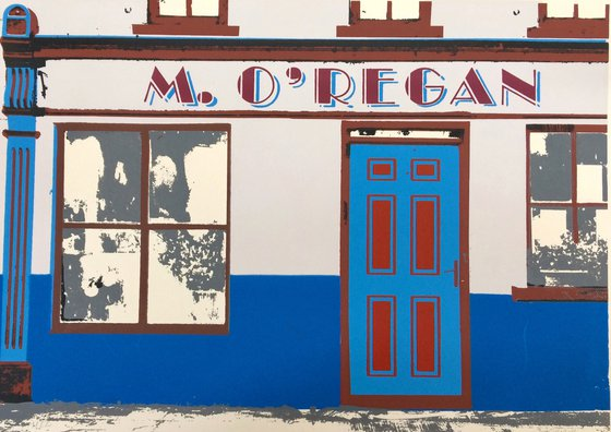 Irish shop fronts - M.O'regan