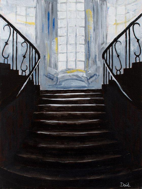Light on stairs V