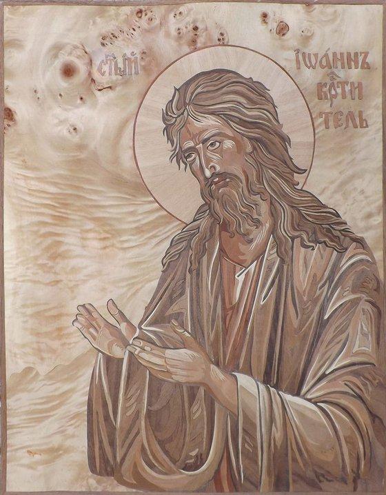 St. John the Baptist (marqurtry work)