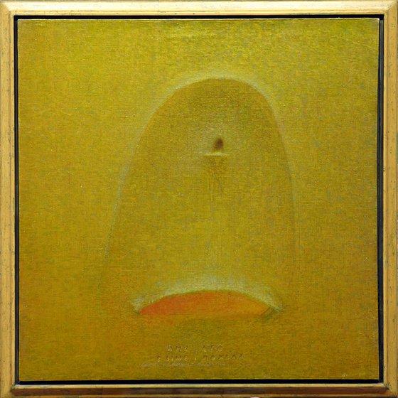 TANTO NOMINI NULLUM PAR ELOGIUM (111x111cm/44x44in)